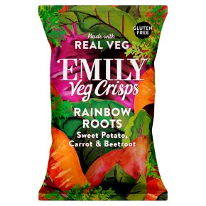 Emily Veg Crisps Rainbow Roots
