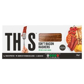 This Isn't Bacon Plant-Based Rashers