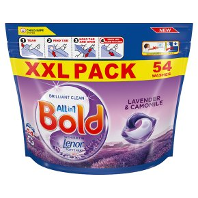 Bold All in One Lavender Pods 57 washes