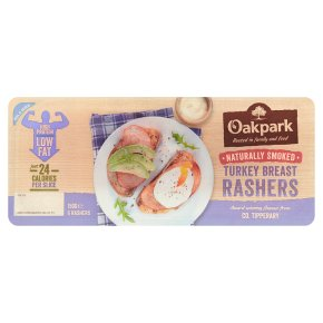 Oakpark Smoked Turkey Breast Rashers