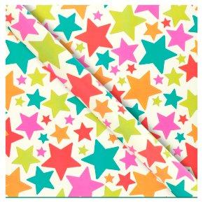 Waitrose Gift Wrap Multicoloured Stars