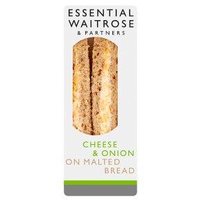 Essential Cheese & Onion Sandwich
