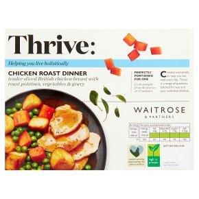 Waitrose Thrive Chicken Roast Dinner