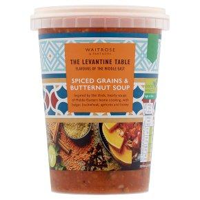 Levantine Table Spiced Grains & Butternut Soup