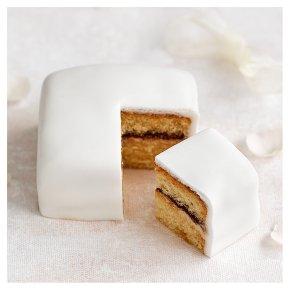 Golden Sponge Sample Wedding Cake