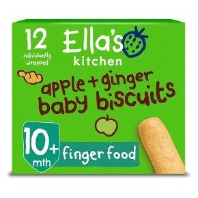 Ella's Kitchen Apple & Ginger Biscuits