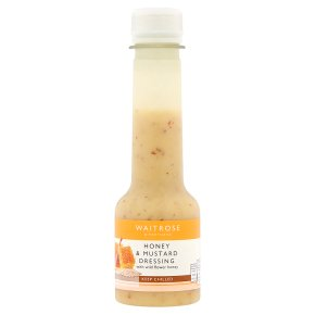 Waitrose Fresh Wildflower Honey & Mustard Dressing