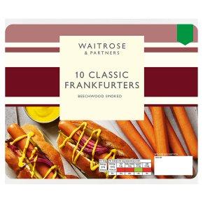 Waitrose 10 Classic Frankfurters