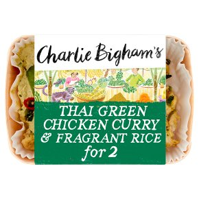 Charlie Bigham's Thai Green Chicken Curry for 2