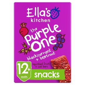Ella's Kitchen The Purple One Oat Bars