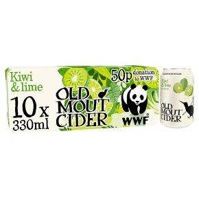 Old Mout Cider Kiwi & Lime New Zealand