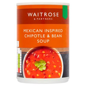 Waitrose Mexican Inspired Chipotle & Bean Soup