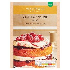 Waitrose Vanilla Sponge Mix