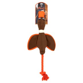 House of Paws Canvas Duck Toy