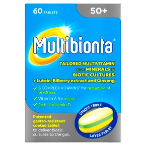 Multibionta 50+ Tablets