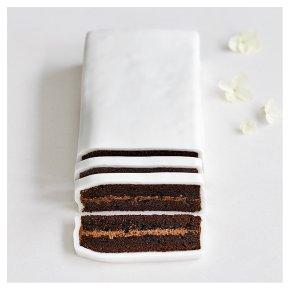 Chocolate Sponge Wedding Cutting Bar