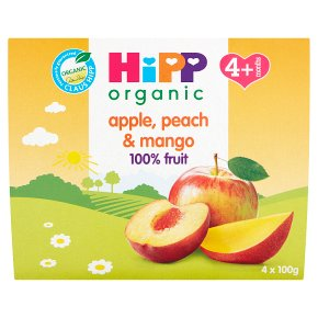Hipp Fruits Apple,Peach & Mango