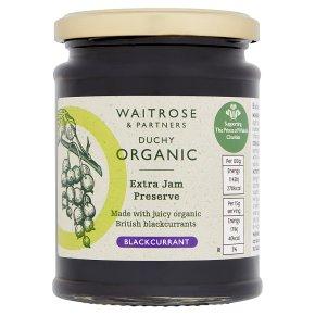 Duchy Organic Blackcurrant Preserve Extra Jam