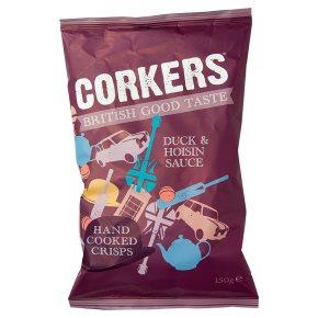 Corkers Gressingham Duck & Hoisin Sauce Crisps