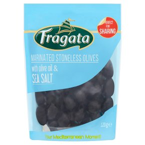 Fragata Marinated Stoneless Olives with Sea Salt