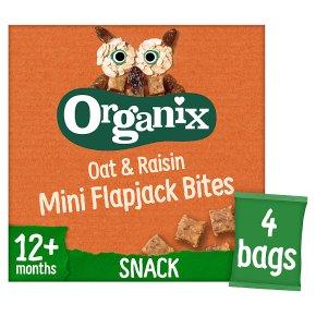 Organix Oat & Raisin Mini Flapjack Bites