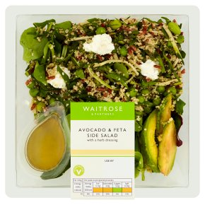 Waitrose Avocado & Feta Side Salad