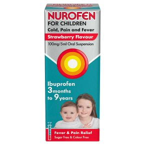 Nurofen For Children Ibuprofen Strawberry