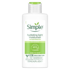 Simple light moisturiser