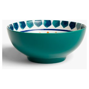 John Lewis Levantine Bowl 20cm Green/Orange