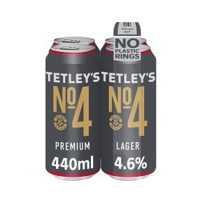 Tetley's No4 Premium Lager