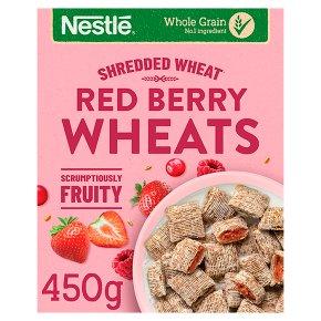 Nestlé Shredded Wheat Red Berries Vanilla