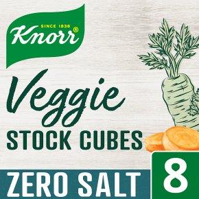 Knorr Zero Salt Veggie 8 Stock Cubes