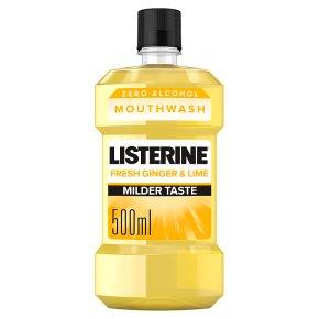 Listerine Fresh Ginger & Lime