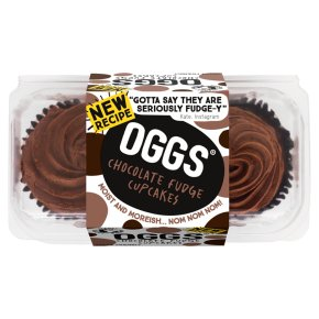 OGGS 2 Chocolate Fudge Cupcakes