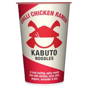 Kabuto noodles chilli chicken ramen