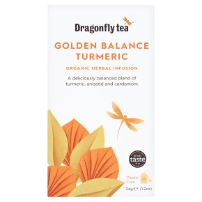 Dragonfly Tea Golden Balance Detox Herbal Infusion 20s