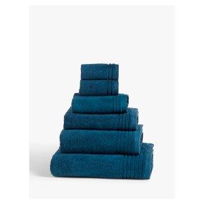 John Lewis Ultra Soft Bath Towel Navy 70x130cm