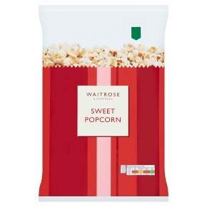 Waitrose Sweet Popcorn