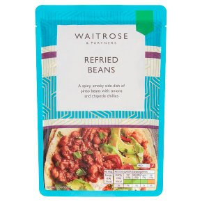 Waitrose Spicy Refried Beans