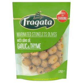 Fragata Marinated Stoneless Olives with Garlic & Thyme