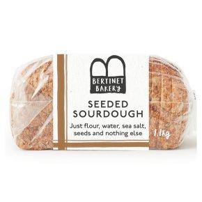 Bertinet Seeded Sourdough Loaf