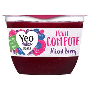Yeo Valley Organic Mixed Berry Fruit Compote