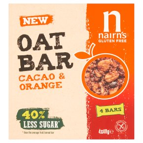 Nairns Oat Bar Cacao & Orange