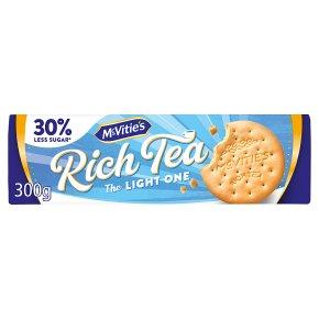 McVities rich tea lights