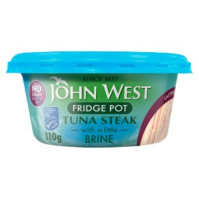 John West No Drain Tuna Steak in Brine