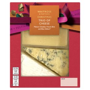 Waitrose 3 Cheese Selection