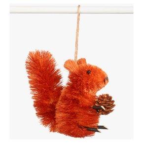 John Lewis Squirrel Pinecone Decoration