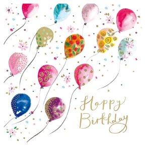 Magical Balloons Birthday Card
