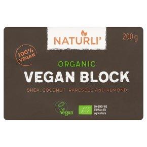 Naturli' Organic Vegan Block
