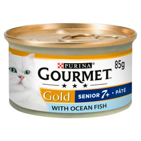 Gourmet Gold 7+ Paté with Ocean Fish